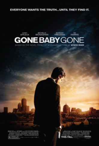 Gone Baby Gone - Theatrical release poster