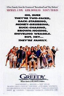 <i>Greedy</i> (film) 1994 film by Jonathan Lynn