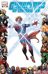 The modern version of Adam Warlock: Guardians of the Galaxy vol. 2, #17  (Oct. 2009). Cover art by Mike Perkins.