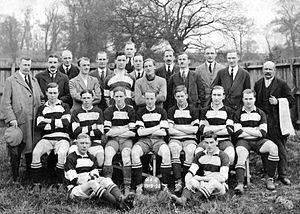 Hendon F.C. - The Hampstead Town side of 1919–20