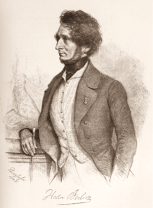 Berlioz by August Prinzhofer, 1845 (Source: Wikimedia)