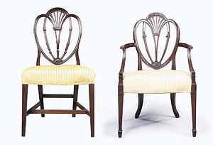 George Hepplewhite - Image: Hepplewhite Chairs