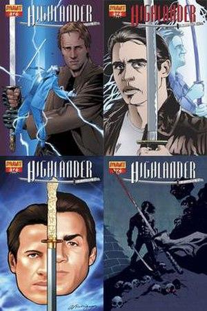 Highlander (comics) - Image: Highlander 12