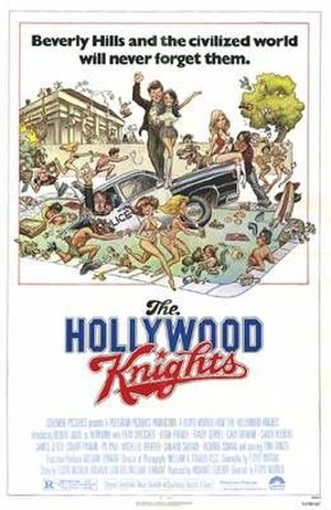 The Hollywood Knights - Theatrical release poster
