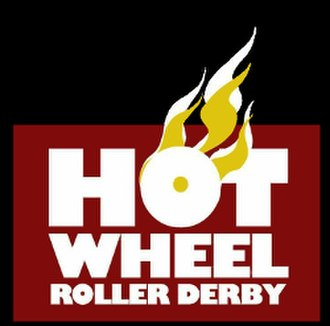 Leeds Roller Derby - Former Hot Wheel Roller Derby logo