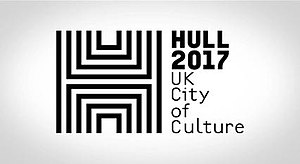 Hull UK City of Culture 2017 - Image: Hull Co C black and white