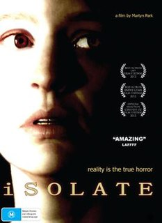 <i>Isolate</i> (film) 2013 film by Martyn Park