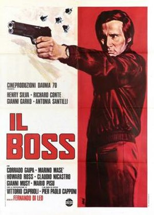 Il Boss - Film poster