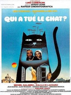 The Cat (1977 film) - Image: Il gatto poster