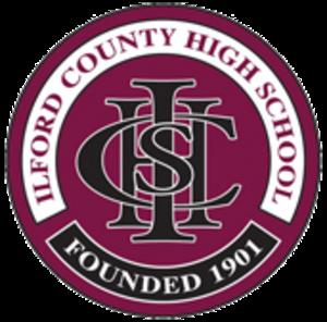 Ilford County High School - Image: Ilford County High School (logo)