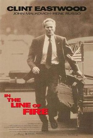 In the Line of Fire - Theatrical release poster