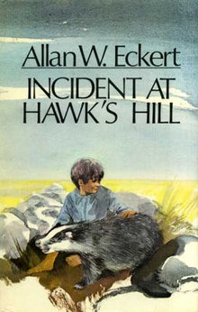 Incident at Hawk's Hill - 1st edition cover.jpg