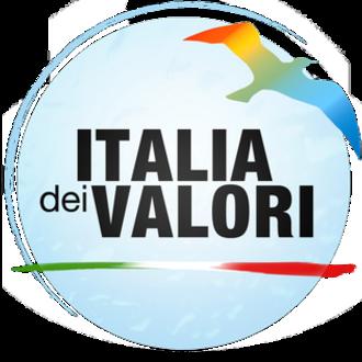 Italy of Values - Image: Italia dei Valori Logo