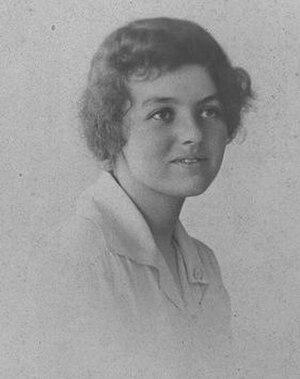 Jean Curlewis - Jean Curlewis in her twenties