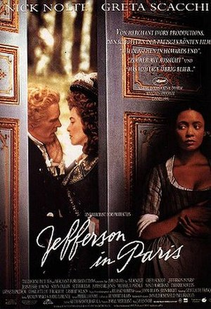 Jefferson in Paris - Original poster