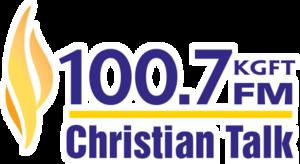 KGFT - Image: KGFT 100.7FMKGFT logo