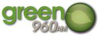 KNEW (AM) - Former Green 960 logo 2010-2012