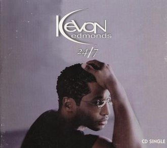 24/7 (Kevon Edmonds song) - Image: Kevon Edmonds 24 7 single cover