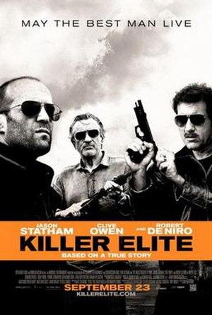 Killer Elite (film) - Theatrical release poster
