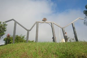 Kokoda Track - The monument at Owers Corner