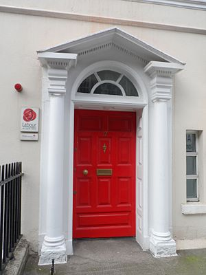 Labour Party (Ireland) - 17 Ely Place, Dublin, head office of the Labour Party until 2015.