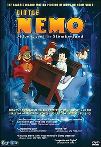Little Nemo: Adventures in Slumberland - US DVD cover