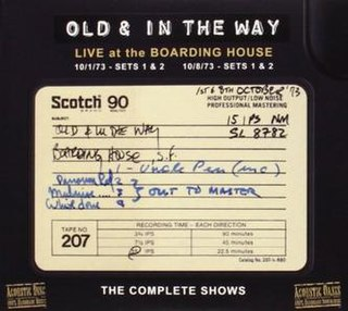 <i>Live at the Boarding House: The Complete Shows</i> live album by Old and in the Way