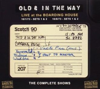 Live at the Boarding House: The Complete Shows - Image: Live at the Boarding House The Complete Shows