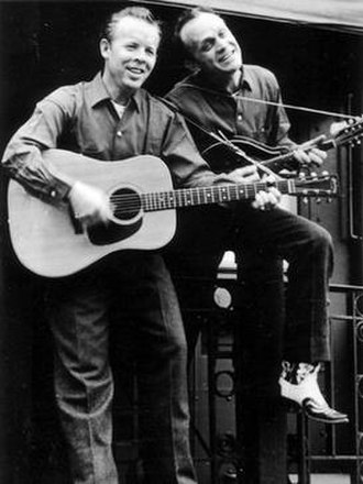 The Louvin Brothers - Charlie (left) and Ira Louvin