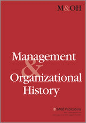 Management & Organizational History - Image: Management & Organizational History Journal Front Cover