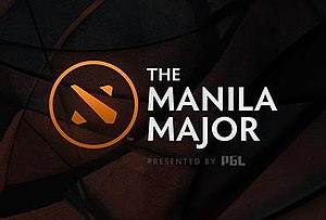 Manila Major - Image: Manila Major logo