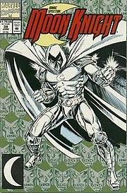Marc Spector: Moon Knight #39Art by Gary Kwapisz.