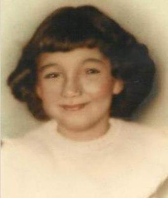 Murder of Maria Ridulph - Maria Ridulph, c. 1957