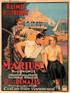 <i>Marius</i> (1931 film) 1931 film by Alexander Korda