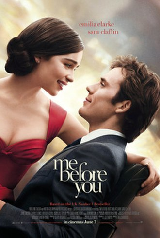 Me Before You (film) - Theatrical release poster