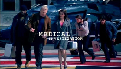 Picture of a TV show: Medical Investigation