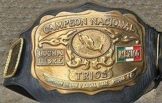 Mexican National Trios Championship Professional wrestling trios tag team championship