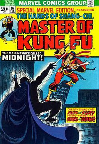 Master of Kung Fu (comics) - Image: Midnight Sun 02