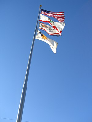 Mark Keppel High School - Keppel's Four Flags