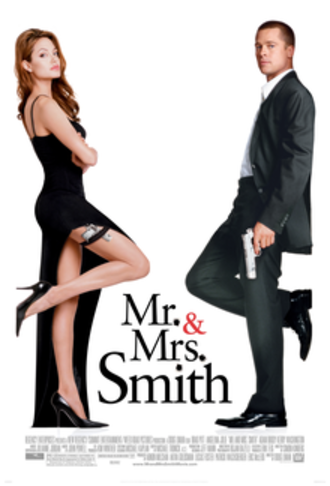 Mr. & Mrs. Smith (2005 film) - Theatrical release poster