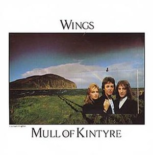 Mull of Kintyre (song) - Image: Mull of Kintyre (Wings song cover art)