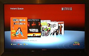 Home theater PC - Netflix has integrated its streaming player in many consumer electronics devices including the Xbox 360