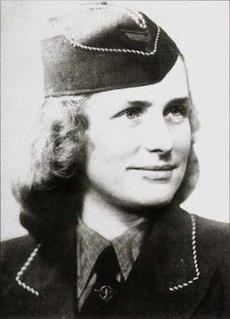 Hildegard Neumann Czechoslovak overseer of Nazi concentration camps during World War II