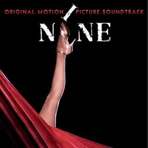Nine (2009 live-action film) - Image: Nine Sndtrk CD