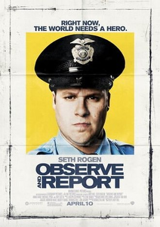 Observe and Report - Promotional film poster