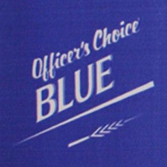Officer's Choice - Officer's Choice Blue logo