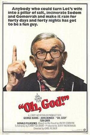 Oh, God! - Image: Oh, God! (movie poster)