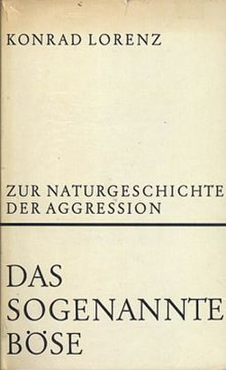 On Aggression - Cover of the first edition
