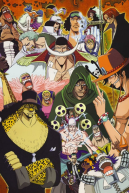 Other characters of One Piece