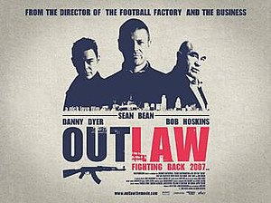 Outlaw (2007 film) - UK promotional movie poster for the film